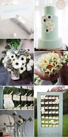 Blue Wedding Inspiration Wedding Inspiration Boards Photos on WeddingWire