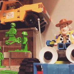 Some of my Toy Story collection #lego #toystory #pixar #collection #afol #photos #photography #camera #legophoto #toyphoto #minifig #minifigures #photo #toy #brickphoto by bricktease