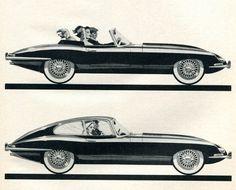 Jaguar XK-E 1963 - Mad Men Art: The 1891-1970 Vintage Advertisement Art Collection