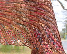 This is on my needles. Ravelry: Nymphalidea pattern by Melinda VerMeer FREE