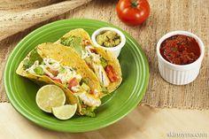 Oven Crisp Fish Tacos--yum!!