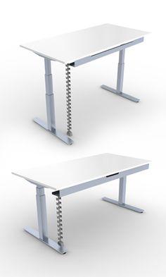 Ergotron Workfit D Sit Stand Desk Cherry Surface Overstock Com