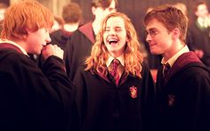 Perfect Friendship #Harry #Ron #Hermione