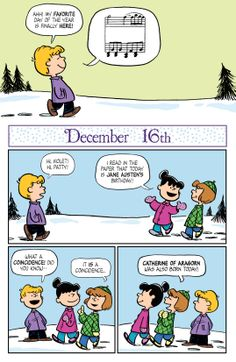 KaBOOM Peanuts Series 2, #14 - December 16th 1