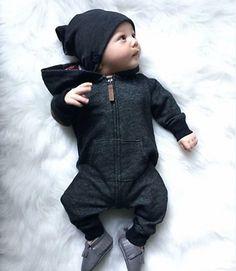 e01edb010 US Infant Newborn Baby Boy Girl Cotton Bodysuit Romper Jumpsuit Clothes  Outfits