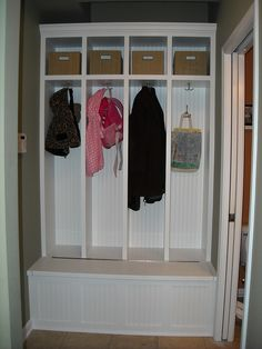 would love our old front closet to be turned into this