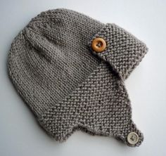 Baby Aviator Hat Pattern