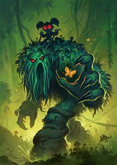 ✔ Card Name: Bog Creeper Artist: Matt Dixon