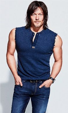 Norman Reedus looking amazing Daryl Dixon The Walking Dead