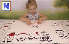 019 Учим эмоции Смешные рожицы Развивающие игры для детей
