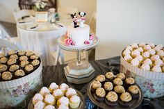 mesa de bolo de casamento do queque