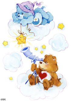 Tenderheart Bear and Bedtime Bear