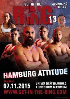 "citysports-Redaktion: 13. K1-Kickboxevent ""Get in the Ring""!"