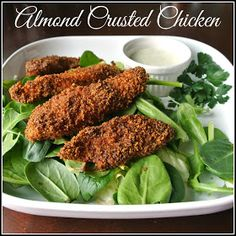 Mom, What's For Dinner?: Almond Crusted Chicken
