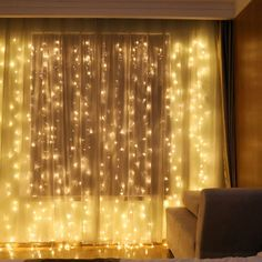 Window Curtain String Light 300 LED Curtain Light for Wedding Party Home Garden Bedroom Outdoor Indoor Wall Decorations(Warm White) - - Seasonal Décor, Seasonal Lighting, Outdoor String Lights # # Led Icicle Lights, Led Curtain Lights, String Lights Outdoor, White Led Lights, Hanging Lights, Backdrop Lights, Curtain Hanging, Light String, Window Hanging