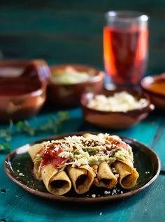 Rústica: Tacos Dorados