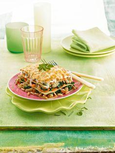 #Recette : Lasagnes végétales de crosnes aux pignons