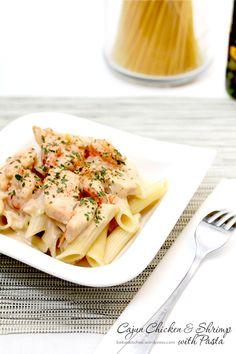 Cajun Chicken & Shrimp with Pasta