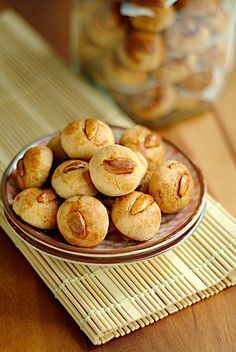 Chinese Peanut Cookies. One of my favs for Chinese New Year