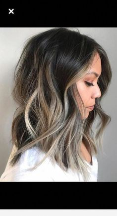 Long Wavy Ash-Brown Balayage - 20 Light Brown Hair Color Ideas for Your New Look - The Trending Hairstyle Brown Hair Balayage, Brown Blonde Hair, Balayage Brunette, Light Brown Hair, Hair Color Balayage, Brunette Hair, Hair Highlights, Dark Hair, Brunette Highlights Lowlights