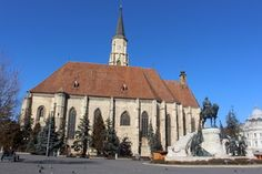 St. Michaels Cathedral in Cluj-Napoca Romania