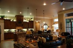 Kitchen & Living Room!