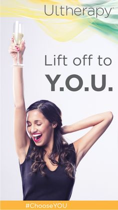 Here's to lifting spirits (and brows, necks & under-chins) in the new year! #HappyNewYear #ChooseYOU #YourOwnUltherapy