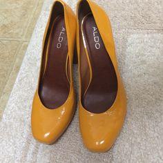 Aldo made in brazil beautiful shoes with wooden heels ALDO Shoes Heels