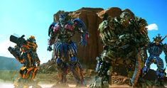 Autobots assemble in the desert in Transformers: Age of Extinction: http://www.dvdizzy.com/transformers-extinction.html #Transformers #OptimusPrime