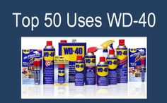 WD 40 uses for just about everything! It removed permanent marker, crayon from walls and so much more. Click through to read all of the uses!