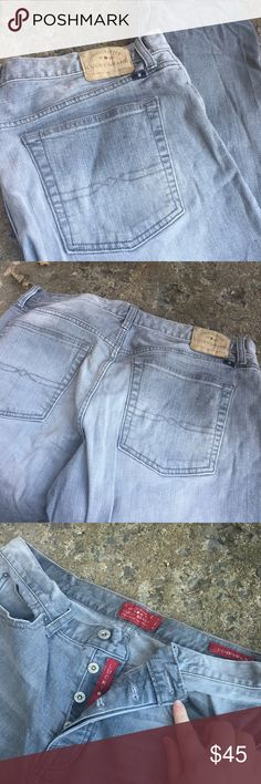 Men's Lucky Brand Jeans 121 Heritage Slim style. Excellent condition. 100% authentic. Worn once! No rips stains or tears. Beautiful grey color with fading. Open to offers. Remember to save 20% off all bundles! SIZE 34W 32L Lucky Brand Jeans