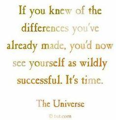 Know Yourself, Be Wildly Successful Так вот в чем дело, мы либо имеющие дикий успех в нашей жизни, или мы воюем с кем мы являемся.