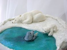 https://flic.kr/p/pM2mPy | Polar Bear Cake