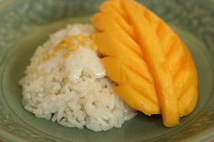 Khao Niaow Ma Muang | sticky rice with mango