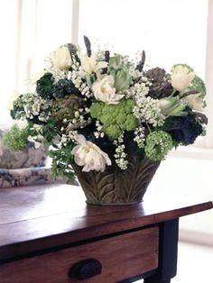 Unique Floral Arrangements: Vegetables and Flowers