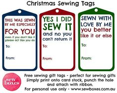 Funny Holiday Gift Tag Stickers, Christmas To From Labels, Gift ...