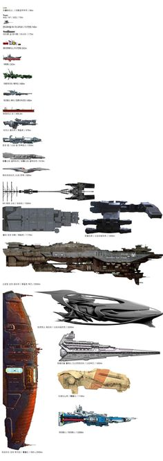 함선 크기 비교