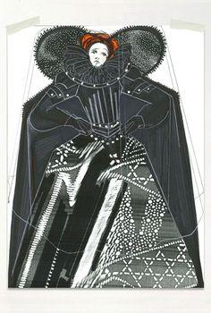 Maria Stuarda. Costume design by Jasper Conran. 1998