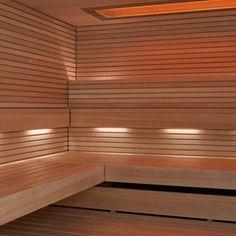 SAUNA PURE: Die schlichte, elegante Sauna.