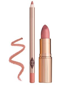 NEW! Charlotte Tilbury East Gift Revolution Sets: LUSCIOUS LIP SLICK Set- PINK $52.00 Luscious Lip Slick Pink contains; • K.I.S.S.I.N.G - Bitch Perfect (Lipstick, one of her signature shades) • LIP CHEAT - Pillowtalk (Lip Liner)