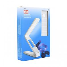 This smart LED folding lamp from Prym ensures that you always have proper illumination when working on your handicraft no matter where you are. The lamp is foldable and is thus easy to take with you, . Led, Bookends, Handicraft, Beanie, Products, Lighting, Handarbeit, Don't Care, Knits