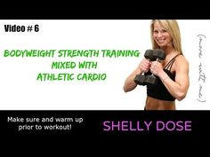 Athletic Cardio Bodyweight Strength 30 Minute Full Length Free at Home Workout - YouTube