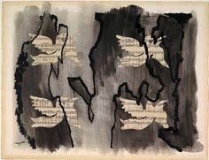 René Magritte - Le Ciel Meurtrier, 1927 René Magritte 1898 - 1967  More @ FOSTERGINGER At Pinterest
