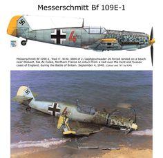 Bf 109E-1 Aircraft Photos, Ww2 Aircraft, Fighter Aircraft, Military Aircraft, Fighter Jets, War Thunder, Ww2 Planes, Battle Of Britain, Aircraft Design