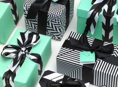 Packaging design for London's Claridge's hotel. Designed by Construct. Love the color scheme and pattern! Wrapping Gift, Creative Gift Wrapping, Christmas Gift Wrapping, Wrapping Ideas, Best Christmas Gifts, Creative Gifts, Christmas Presents, Christmas Fun, Holiday Gifts
