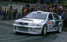 Škoda Octavia WRC Evo2 - 2000 Rallye Sanremo - Luís Climent y Àlex Romaní