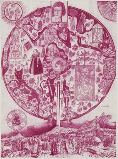 Things that Quicken the Heart: Circles - Mandalas - Radial Symmetry III- Grayson Perry