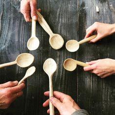Spoon workshop was great :) beautiful cherry spoons!...