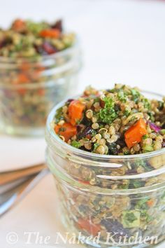 Kale and Quinoa Salad - The Naked Kitchen