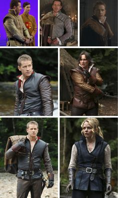 Every one wanted to be Charming.. Emma look cute wearing belt like Daddy Charming :). I always imagined Emma like a knight lady...thankyou OUAT